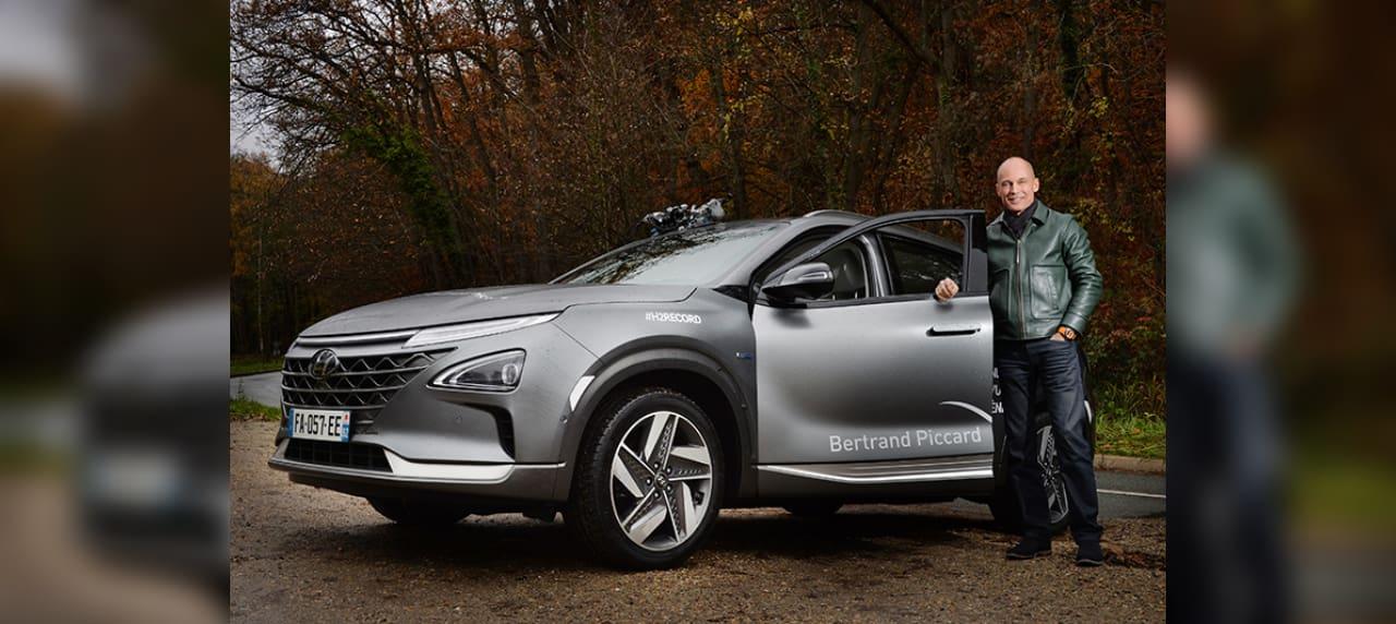 Hyundai Breaks World Record with Hydrogen-Powered Nexo