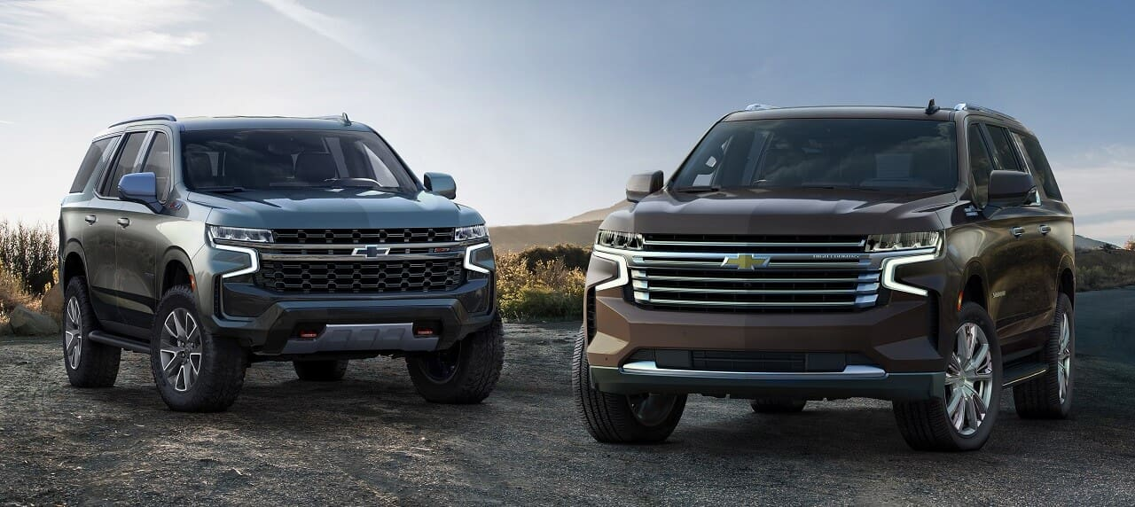 The 2021 Chevrolet Tahoe and Suburban: Bigger, Better, More