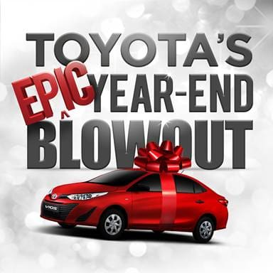 Toyota PH announces year-end blowout sale