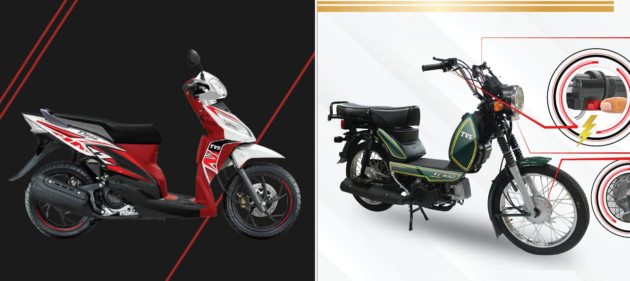 TVS Launches Dazz Prime Scooter and XL100 Premium Moped