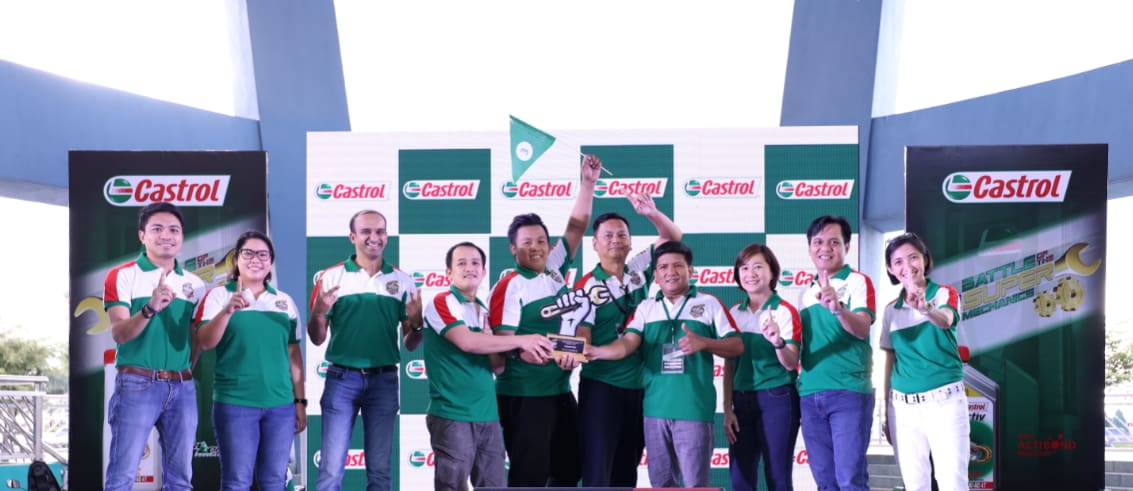 Batangueño Motorcycle Mechanics Hailed as 2019 Castrol Super Mechanics Grand Champs
