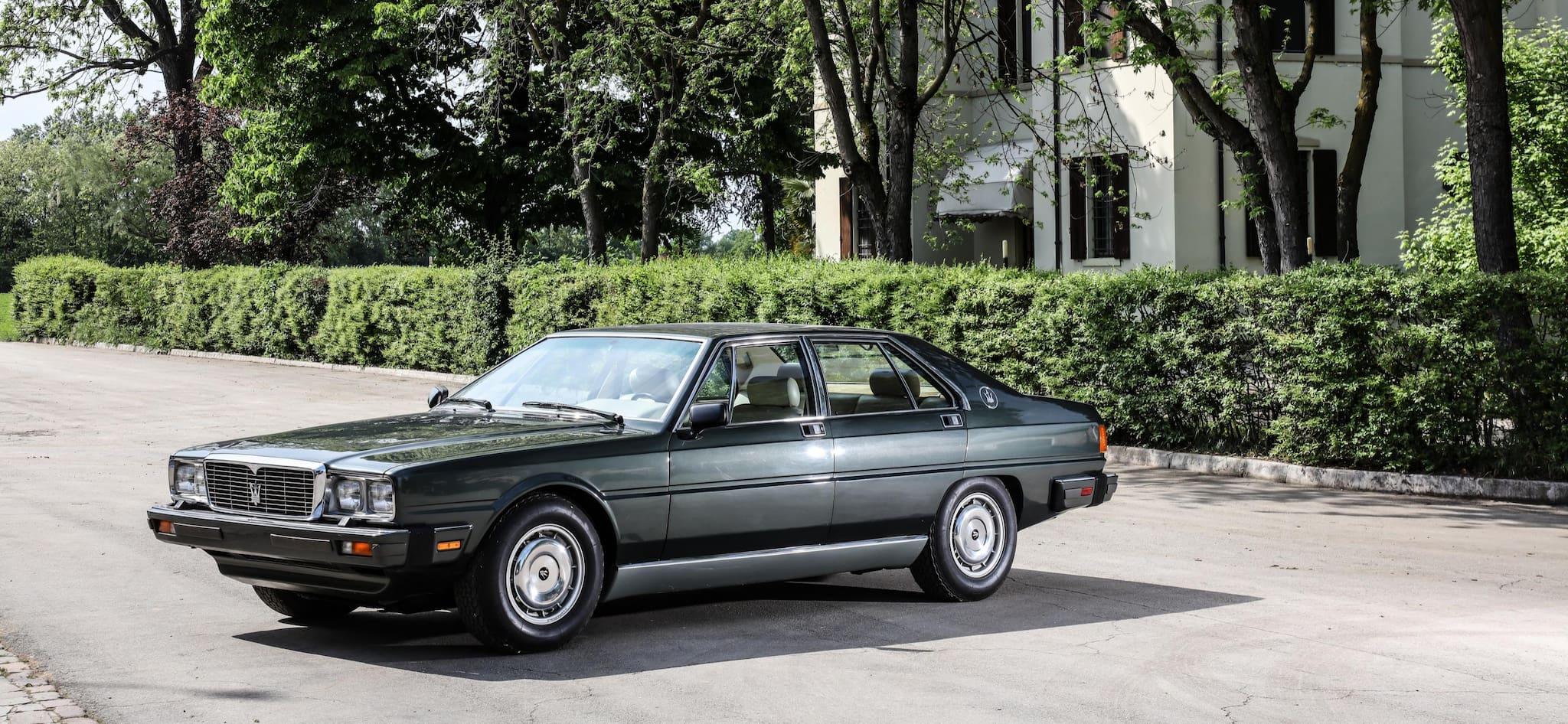 40 Years Ago Maserati Quattroporte was Presented To Italian President Pertini