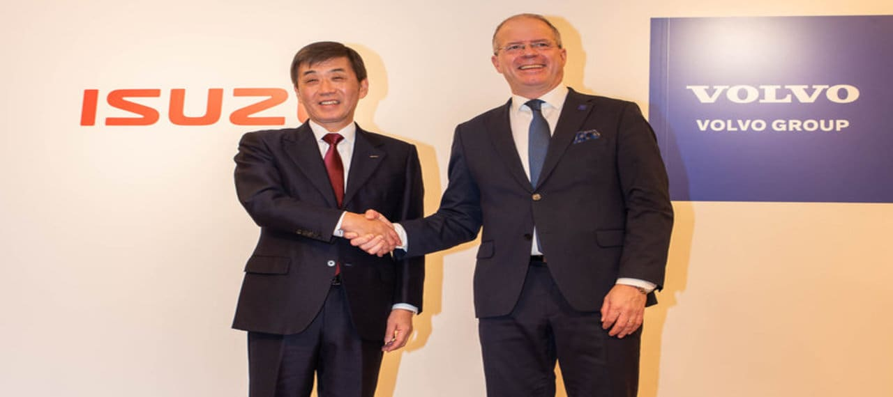 Isuzu Motors to Create Strategic Alliance with Volvo Group