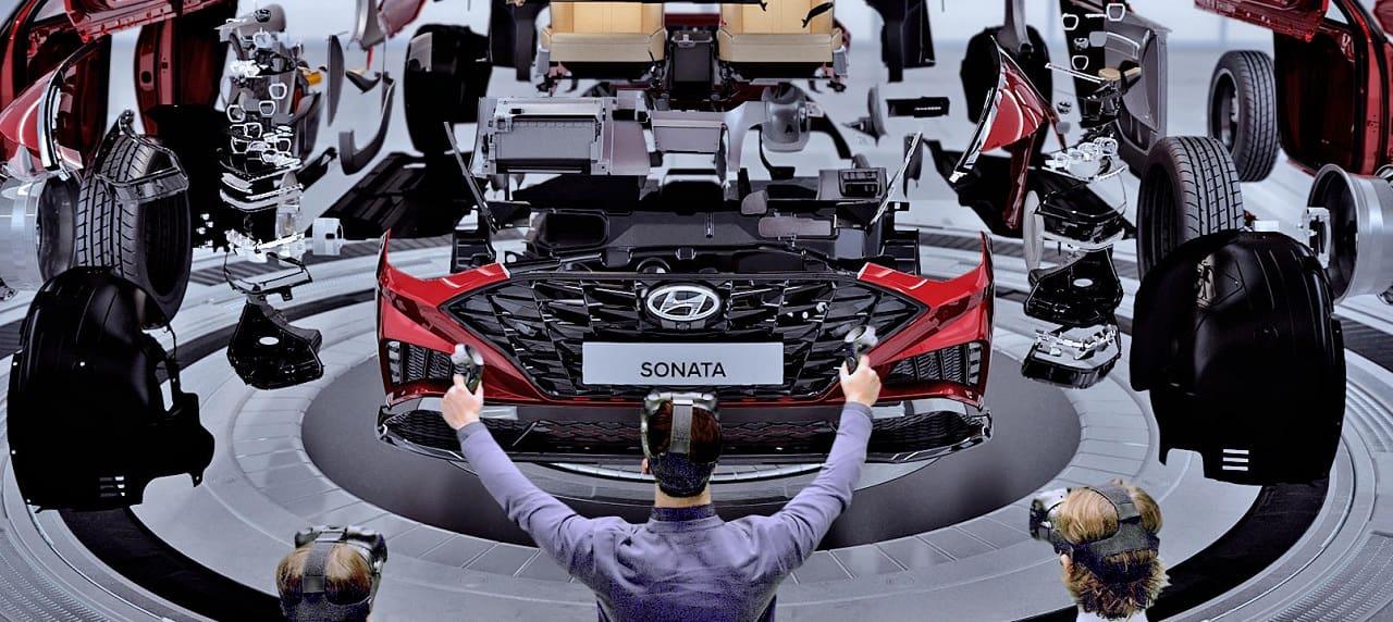 Hyundai, Kia Premiere VR Design Evaluation Technology