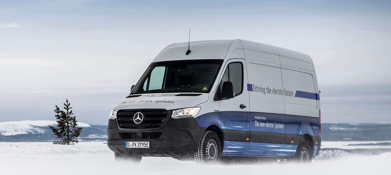 Mercedes-Benz Launches the eSprinter Electric Commercial Vehicle
