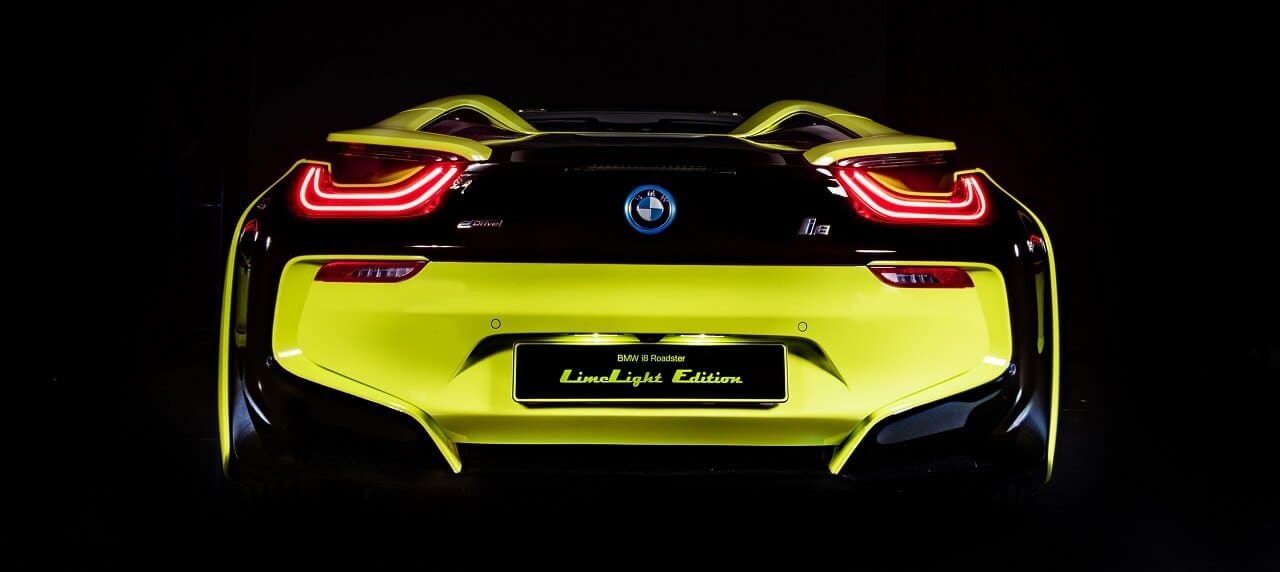 BMW Partners with Alcantara for Stunning i8 Roadster LimeLight One-Off