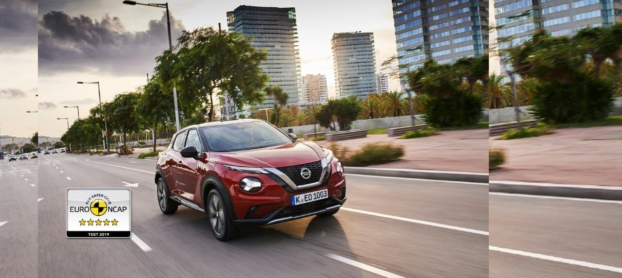 2nd-Gen Nissan Juke Secures 5-Star Safety Rating from Euro NCAP