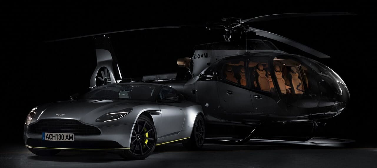 Aston Martin Reveals Airbus ACH130 Aston Martin Edition Helicopter