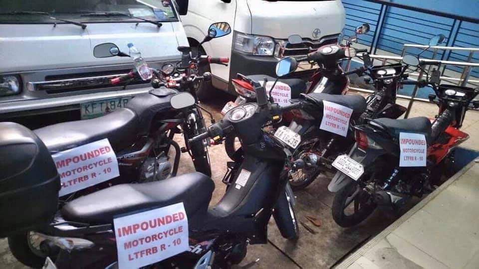 LTFRB Nabs Angkas Riders in CDO