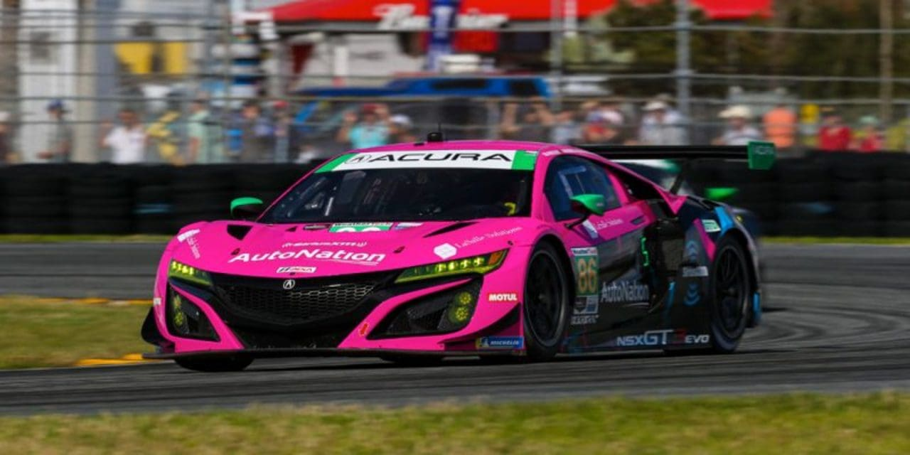 Acura Team Starts Off Rolex 24 Preparations with Flying Colors