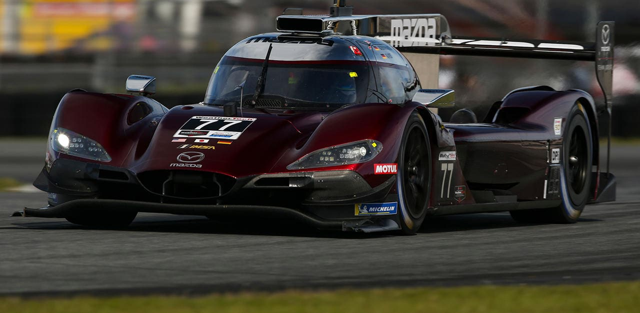 "Mazda's Team Joest's Olivier Pla Sets Unofficial ""Fastest Time Record"" at Daytona Speedway"