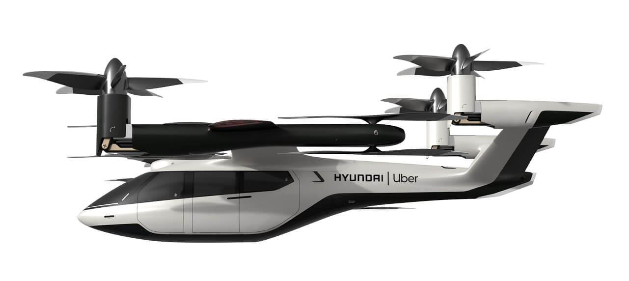 Hyundai, Uber Show off Air Taxi Model at CES 2020