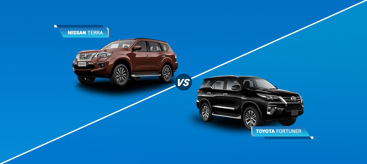 Car Comparison: Nissan Terra Vs Toyota Fortuner