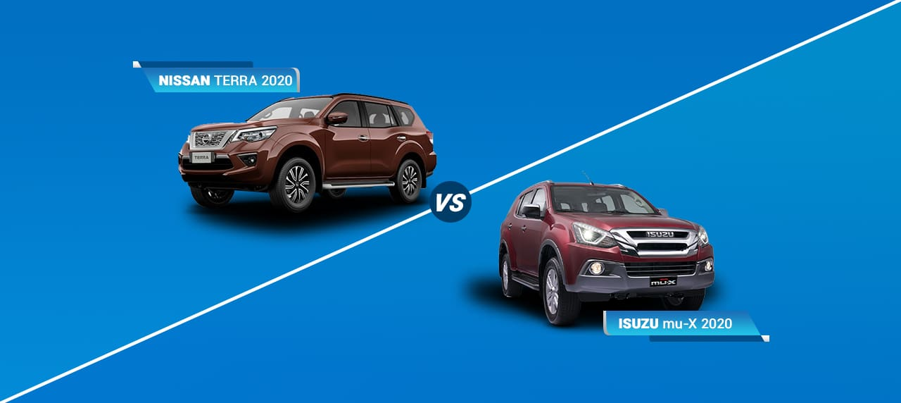 Car Comparison: Nissan Terra vs Isuzu mu-X