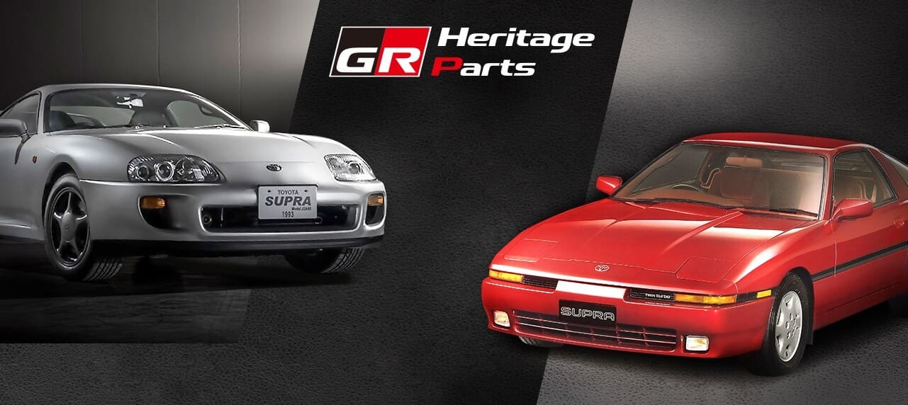 Toyota Is Remaking New Parts for Old Supras