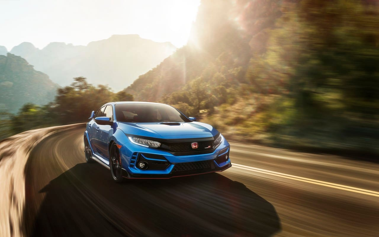This is the 2020 Honda Civic Type R
