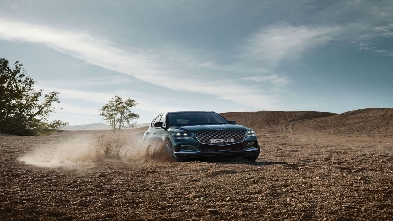 The Newest Genesis GV80 Makes Its Debut in Seoul