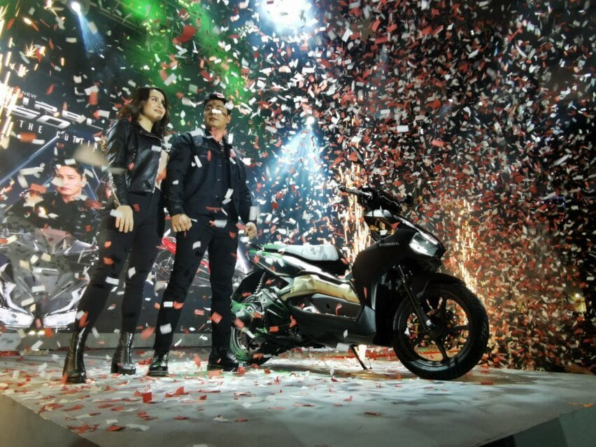 Coco Martin is also a product ambassador for Honda Airblade150.