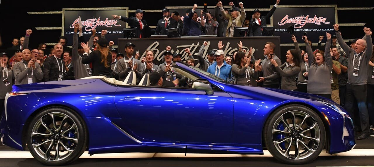 One-of-a-Kind Lexus LC 500 Convertible Sells for USD 2M at Charity Auction