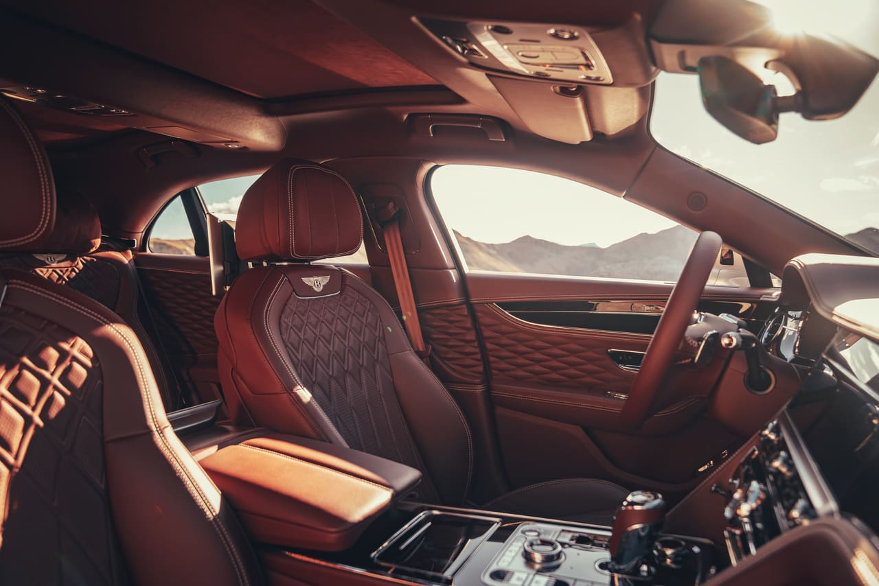 """Bentley Flying Spur Offers The """"Most Intricately Sophisticated"""" Interior in the World"""