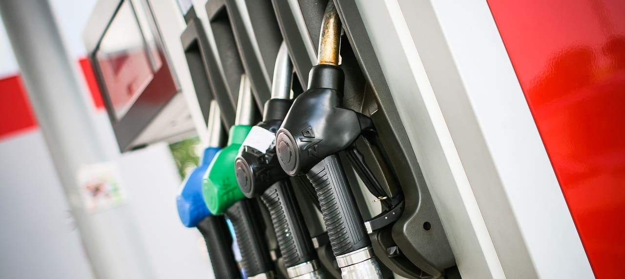 gas station fuel pump