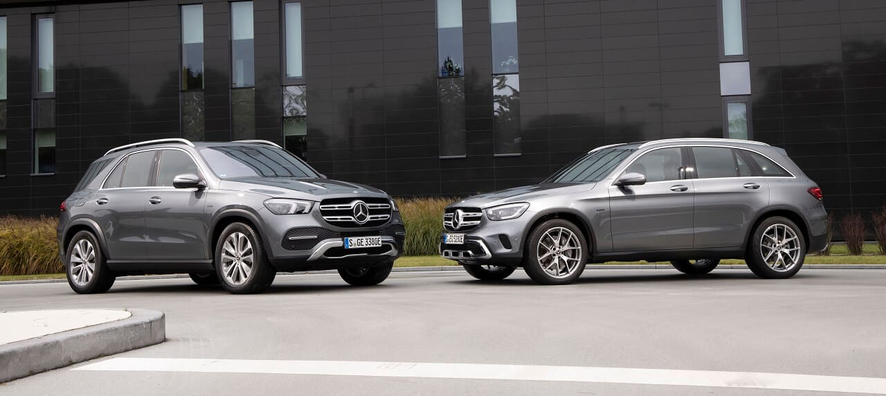 Mercedes-Benz Introduces PHEV GLC 300 e and GLE 350 de SUVs