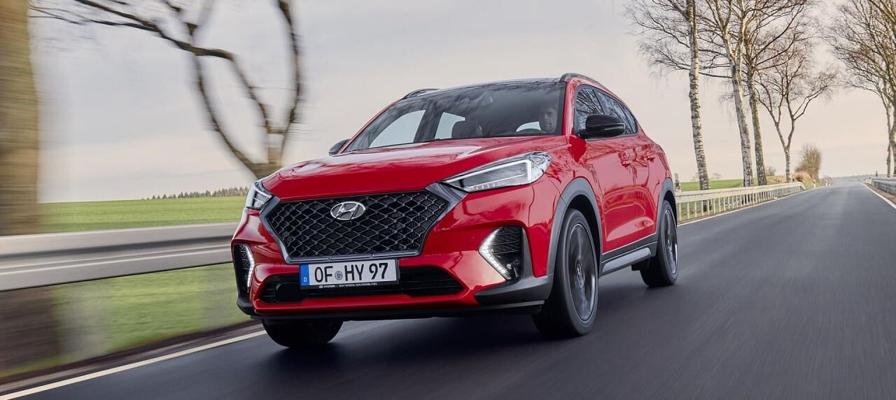2020 Hyundai Tucson Facelift Finds Its Way to Auto Expo 2020