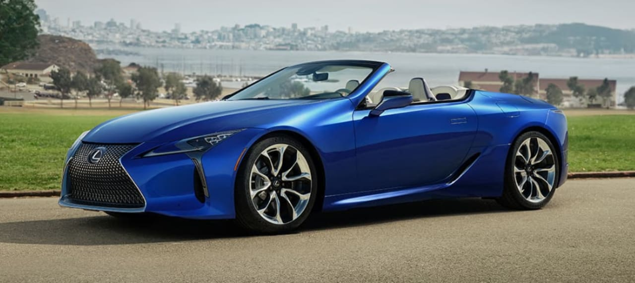 Lexus LC 500, RX, Takes Center Stage at the 2020 Chicago Auto Show