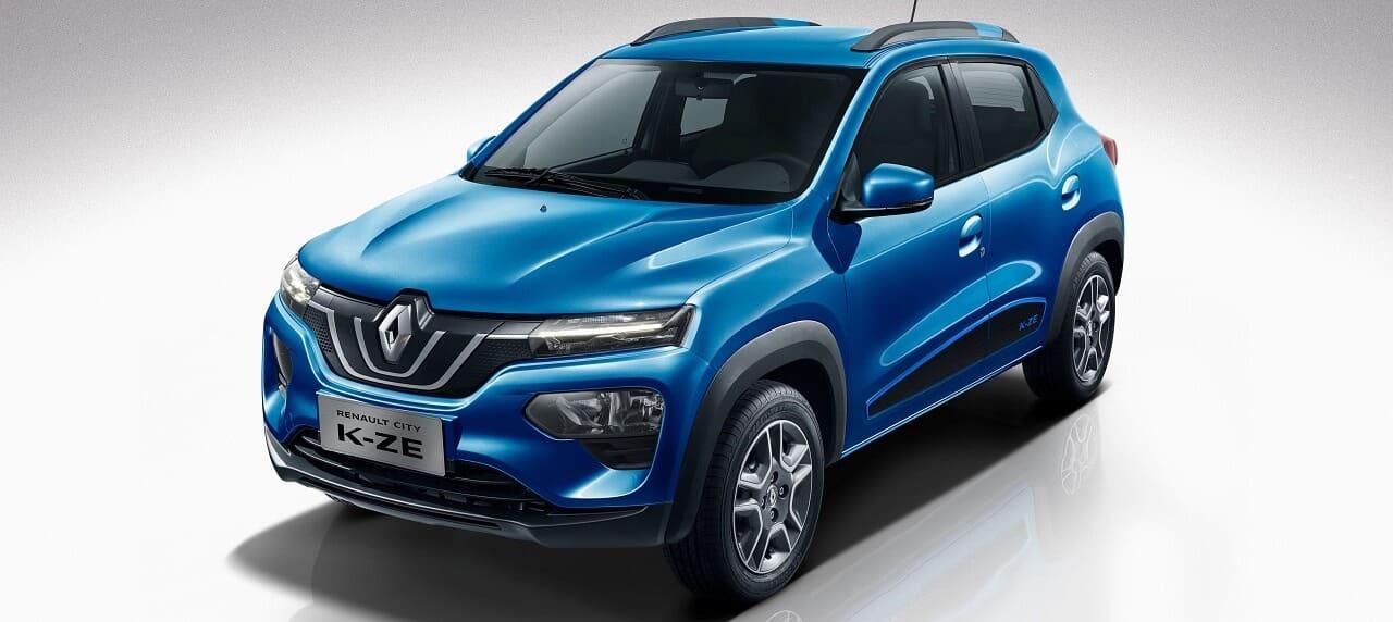 Renault Showcases K-ZE EV at Auto Expo 2020