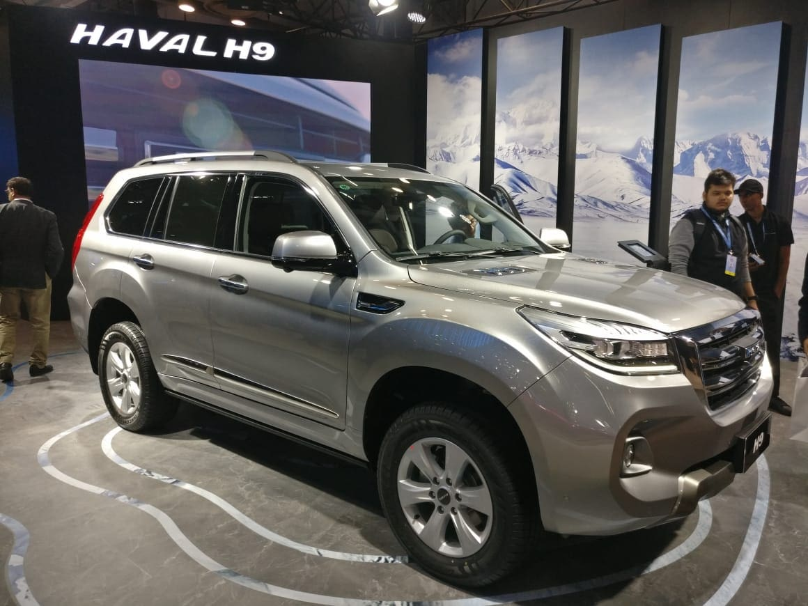 Haval H9 Graces Auto Expo 2020