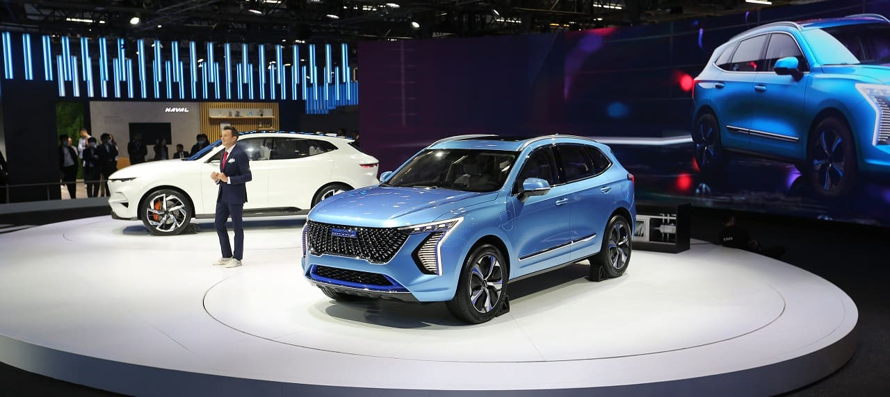 Auto Expo 2020: Great Wall Motors Unveils Haval Concept H