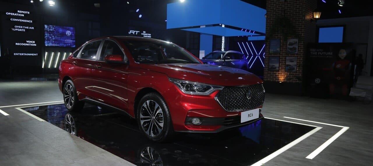 Auto Expo 2020: MG Shows off New RC6 Sedan