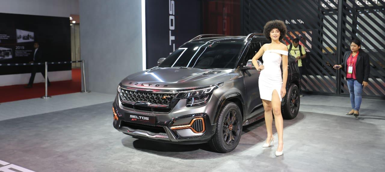 Kia Showcases New X-Line Concept at the Auto Expo 2020