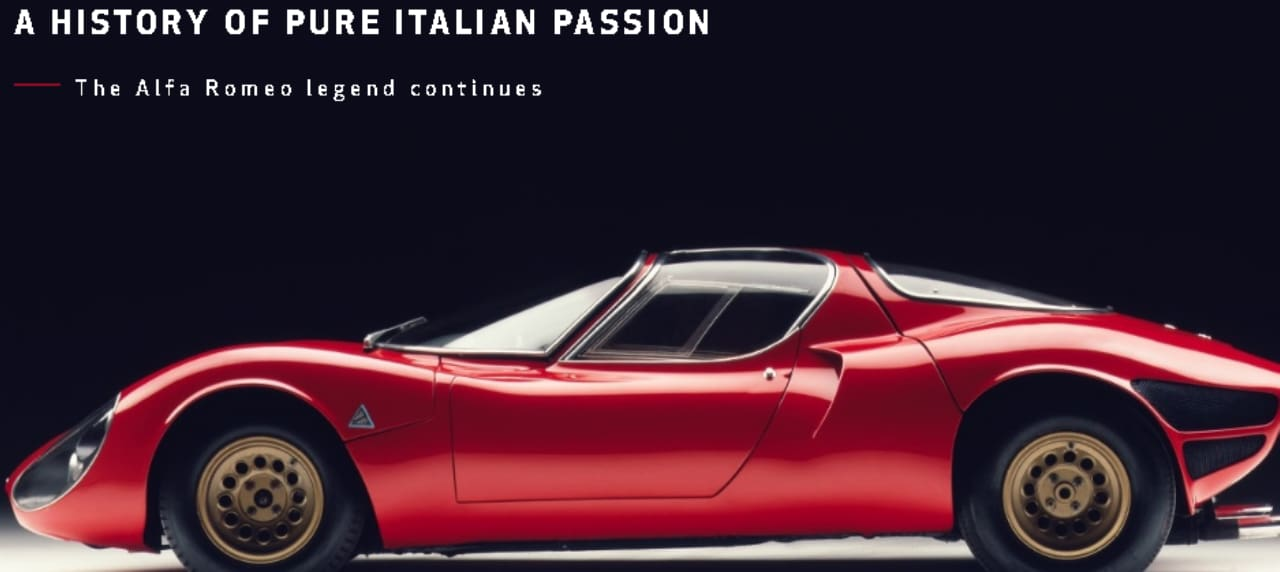 This is the New Logo of Alfa Romeo
