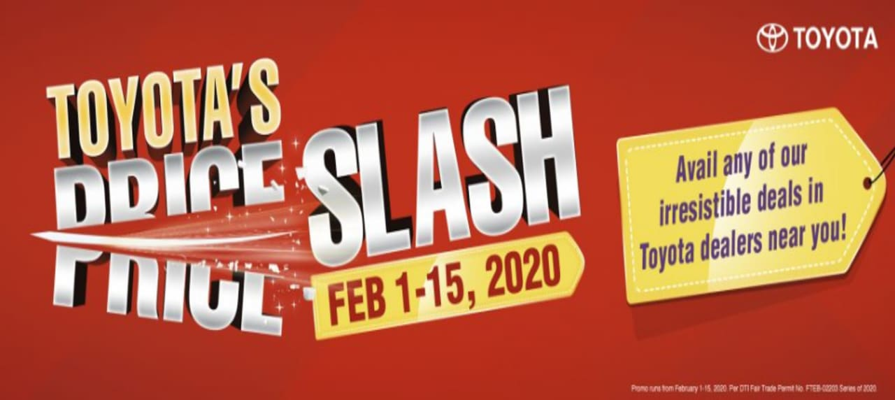 Hurry! Avail of Toyota\'s Price Slash and Deals This February!