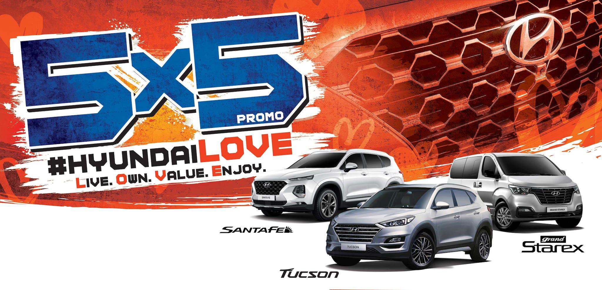 Hyundai PH Relaunches 5x5 Promo This Love Month