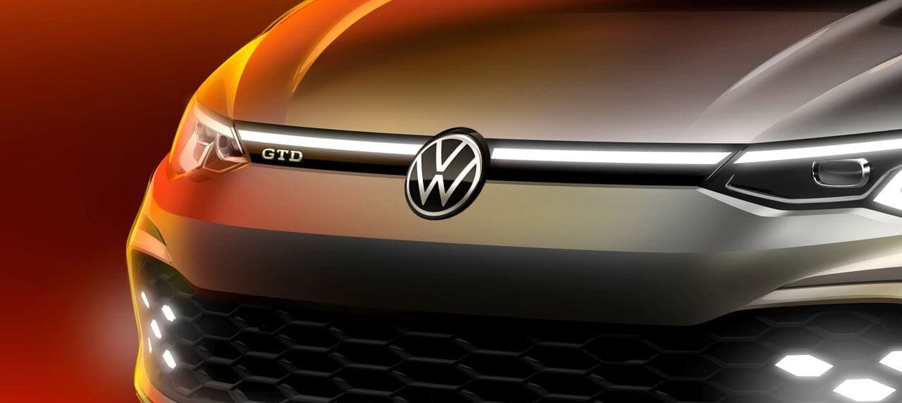 Geneva Motor Show Offers First Glimpse of 2021 VW Golf GTD