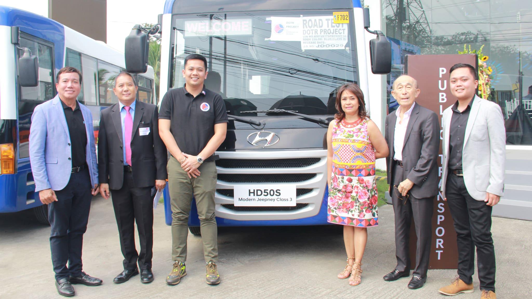 Hyundai PH Debuts Modern Jeepney Class 3 units