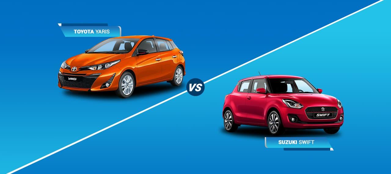 Car Comparison: Toyota Yaris vs Suzuki Swift