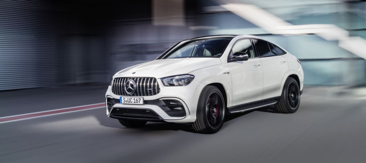 This is the Newest Mercedes-AMG GLE 63 S Coupe