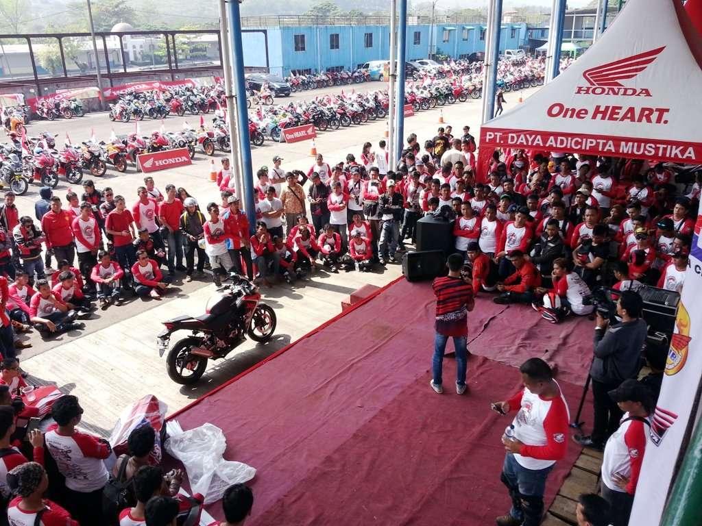 500 Bikers Ramaikan Jambore Nasional Honda CBR