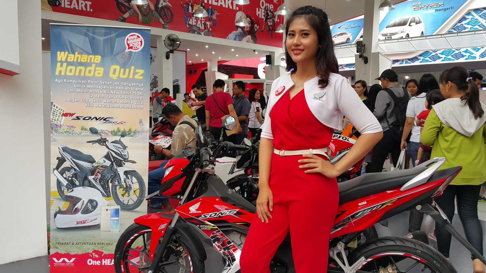 Wahana Honda Tawarkan Promo dan Paket Suku Cadang di PRJ
