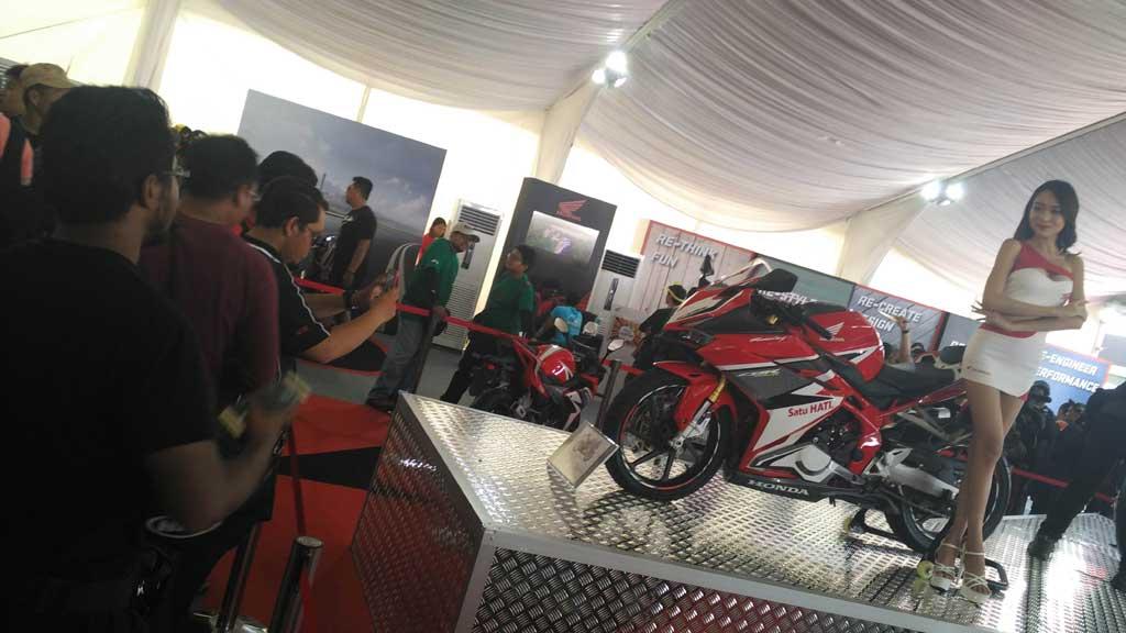 All New Honda CBR250RR Sita Perhatian Pengunjung MotoGP Sepang