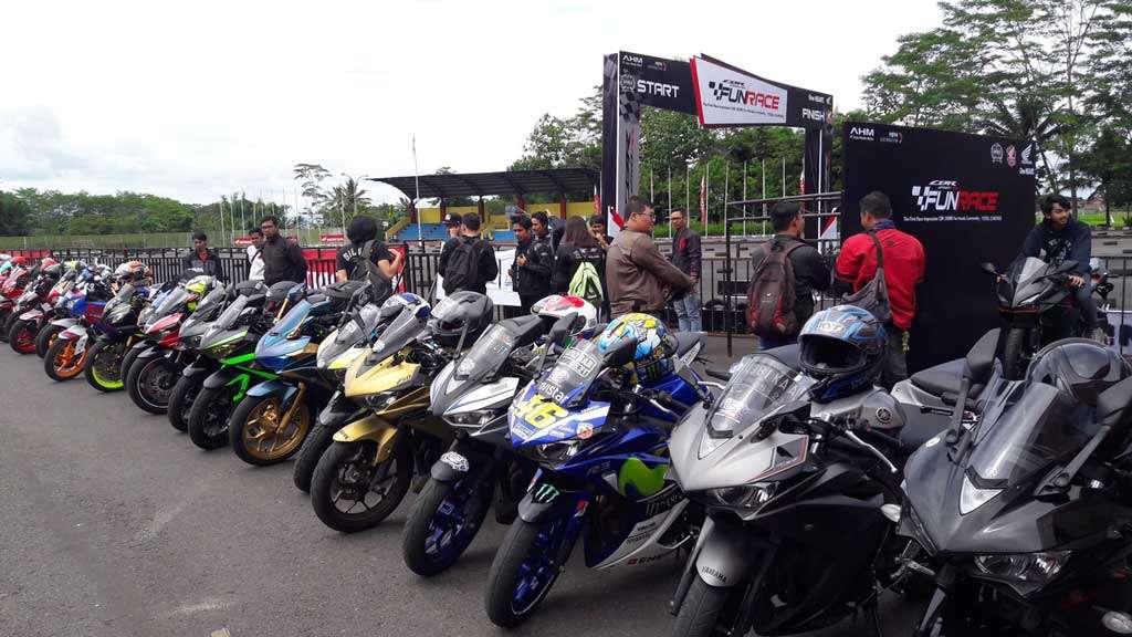 Honda CBR250RR Dijajal 1.150 Orang di 9 Kota