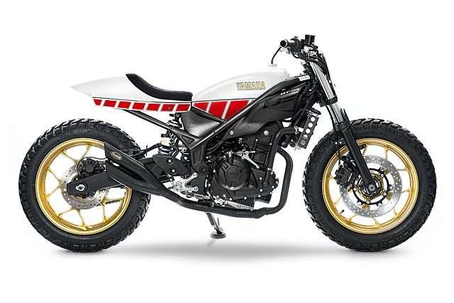 Ini Tracker Berbasis Yamaha MT-03 Kreasi Bocah 12 Tahun