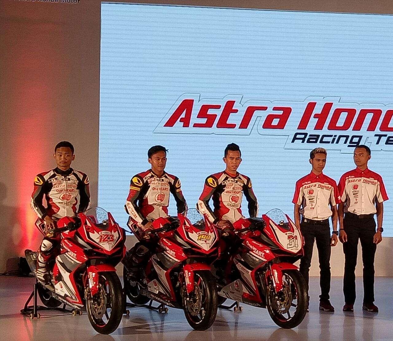 """Honda CBR250RR """"Dijagokan"""" Sebagai Motor Balap Resmi Astra Honda Racing Team"""