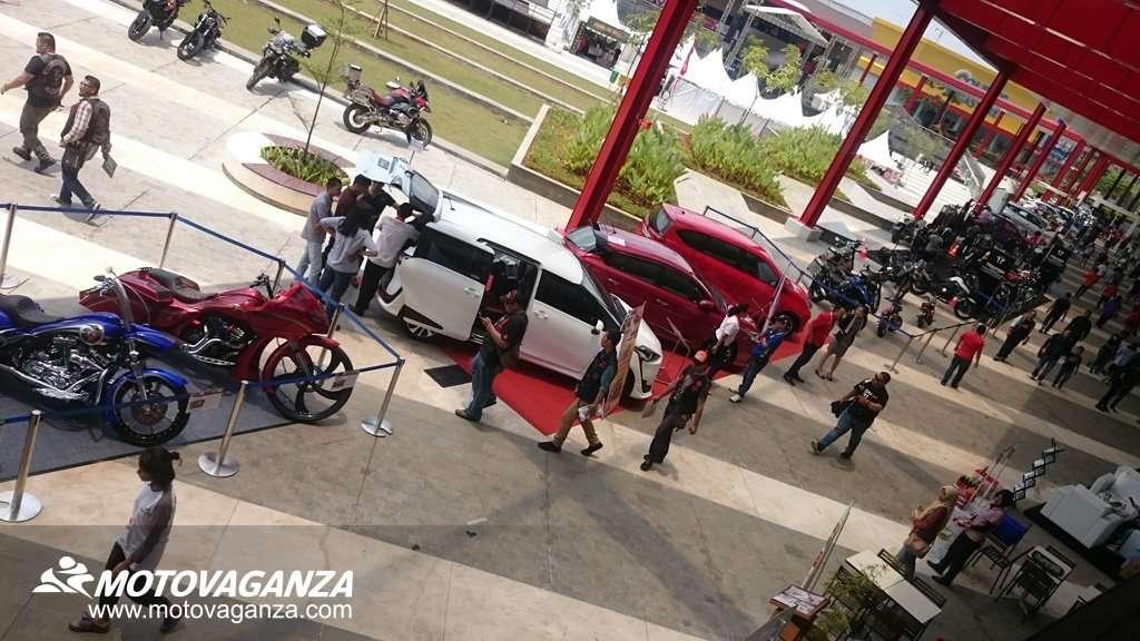 The 1st Indonesia Autovaganza Bikin Heboh QBig Mall