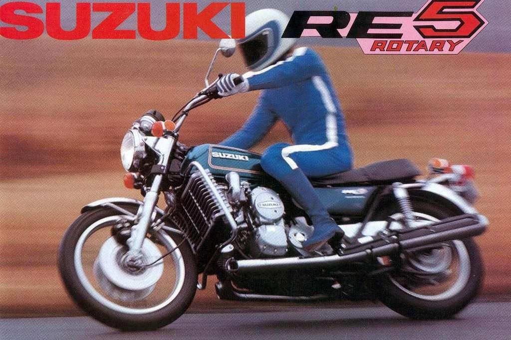 Sepeda Motor Suzuki Pernah Bikin Rotary Lho