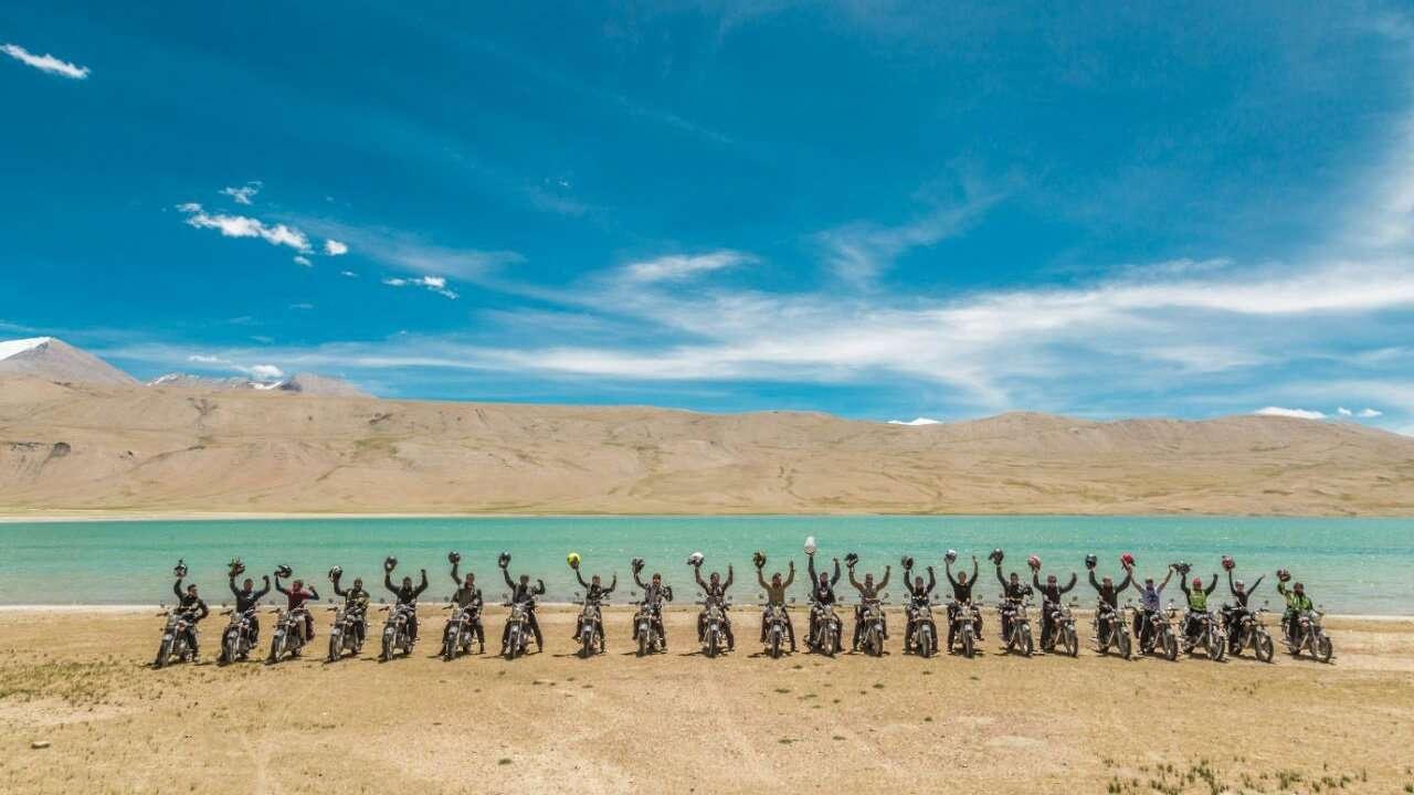 Royal Enfield Moto Himalaya 2017, Bermalam di Tso Kar