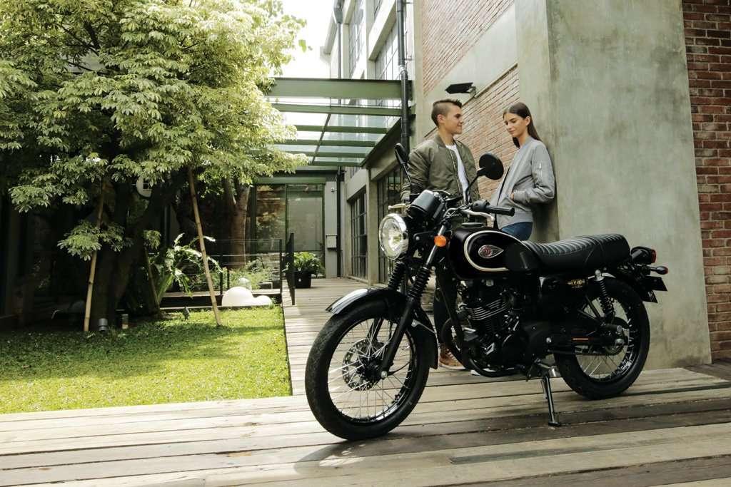 Kawasaki W175, Gaya Klasik dan Retro